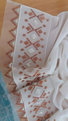 This Pin was discovered by iğn Hand Embroidery, Embroidery Designs, Laser Cut Files, Running Stitch, Dress With Sneakers, Photo Tutorial, Hand Sewing, Stitch Patterns, Diy And Crafts