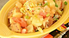 Mexi Tatoes   Easy, tasty dish you can whip up instantly.