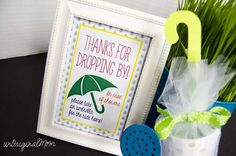 Candy Umbrella Baby Shower Favors