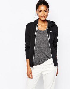 Nike | Sudadera con capucha y cierre de cremallera con logo Club de Nike en ASOS