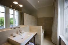 Deluxe bathroom at hotel Château d'Ouchy - Lausanne Lausanne, Lake Geneva, Bathroom, Washroom, Full Bath, Bath, Bathrooms