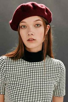 Classic Wool Beret - Urban Outfitters