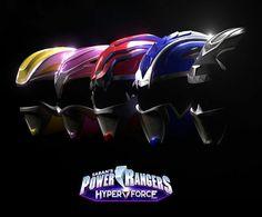Power Rangers HyperForce 3D Helmet Digital Art Design - Artist: David Mathney #∆∆shani