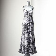 Simply Vera Vera Wang Printed Banded Maxi Dress #kohls