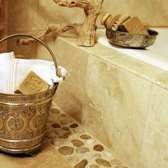 moroccan hammam bucket - photo by apartmentf15