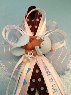 Baby Shower Corsage by MICHELLCUSTOMDESIGNS on Etsy, $6.00