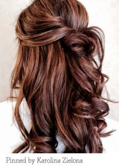 Bridal Curls. Pinned by Karolina Zielona. Recreate it here... http://myhairdressers.com/hairdressing-training/session/soft-curls.html