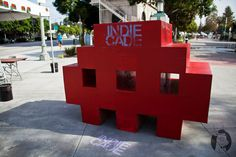 Life size invader!    #videogames #games #gamer #vintage #video #game #playing #addict #retro #invaders