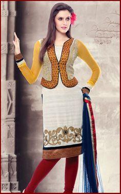 Punjabi Salwar Kameez Neck Designs