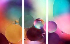 Life Is Sweet 3 Piece Art Print on Premium Canvas Set