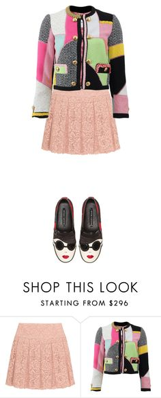 """Quirky Tweed"" by starlings-closet ❤ liked on Polyvore featuring DKNY, Moschino, Alice + Olivia, women's clothing, women, female, woman, misses, juniors and trendytweed"