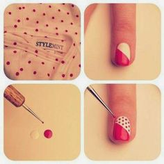 The Woman In me: 12 Ideas On How To Do Nail Art At Home.