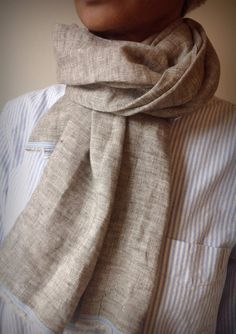 The RocSac Phat Linen Scarf by TheRocSacStore on Etsy