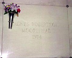 "Agnes Moorehead   Burial: Dayton Memorial Park Dayton  Montgomery County Ohio, USA     RIP ""Endora"""