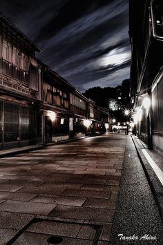 金沢東茶屋 : 黄昏ゆく街で 〜 tanaka akira's photo blog 〜