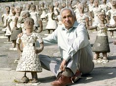 Nek Chand, Creator of a Sculpture Kingdom in India, Dies at 90 - The New York Times