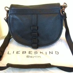Liebeskind Berlin CrossbodyNEW Leather 100%. Brand new with tags. Adjustable strap. Inside compartment. Magnetic snap closure. Perfect condition. Comes with dust bag. Liebeskind Berlin Bags Crossbody Bags