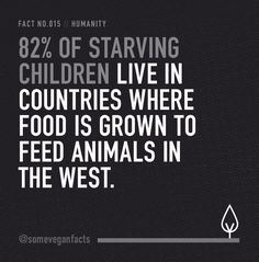 Visualised facts about the meat, dairy industries & vegan life, all laid out in black and white.