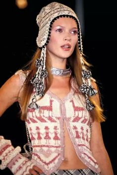 kate @ anna sui spring summer 1993