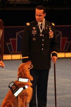 """Iraq veteran's service dog receives AKC award for canine excellence"" -- Examiner.com -- December 16, 2013."