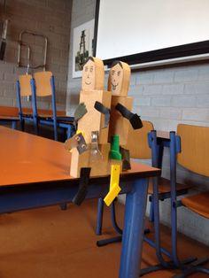 Poppetjes gemaakt met Geerte & Dashanly ❤️❤️