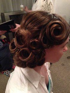 Apostolic Hair, Wedding Hair, Prom Hair :) Done by @Angela Gray Brown!