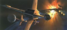 Stunning original concepts of Star Wars
