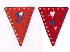Valentine Banner Machine Embroidery Designs http://www.designsbysick.com/details/valentinebanner