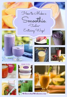 How to Make a Smoothie--Twelve Enticing Ways! Includes Paleo, GAPS, SCD, Dairy Free recipes. Most are also Grain Free and Gluten Free!