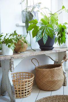 Nur rein mit den Gartenmöbeln!