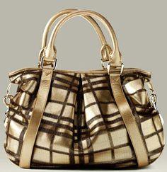 "Burberry ""Heather"" Tote Handbag"
