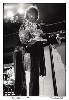 Jimmy Page performing with the Yardbirds in Paris, 1968