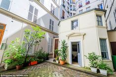 Cute: The Parisian pied-à-terre is cheaper than most hotel rooms in the French capital, costing just £69 a night