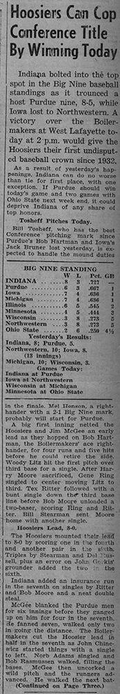 """""""May 28, 1949"""""""