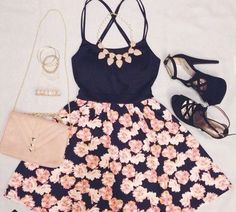 Image via We Heart It #blonde #clothes #dress #fashion #girls #hair #heart #outfit #style #summer #love