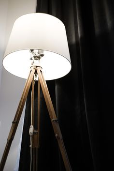 Lamp DIY made from old camera and wooden vintage tripot. How about your details?