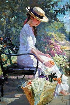 Get beautiful art A walk away from the world. Vladimir Volegov.