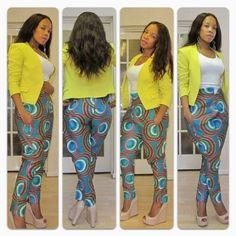 african print dress styles celebrities | ROSECHILE: JIPATIE MSHONO WA KITENGE