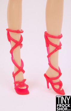Barbie Show Girl Heels