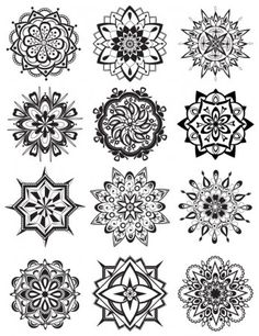 Mandala Coloring Pages - Dabbles & Babbles