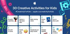 30 kreative Aufgaben für Kinder     iPad macht Schule Apple Education, Creative Activities For Kids, Photo Walk, Apps, Your Photos, Mood, How To Make, Pictures, Distance Education Courses