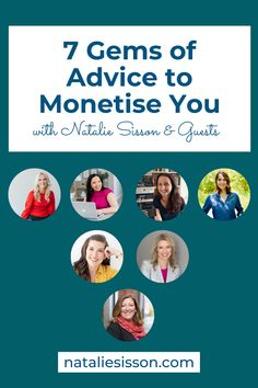The Monetise You Summit is almost here, and I want to give you a little teaser this week on the UNTAPPED podcast! Here are 7 gems of advice to monetise you from some of the successful, powerful, phenomenal women I'm speaking to on the summit. Whether you're dreaming of being an author, blogger, podcaster, speaker or coach, this is for you. Tune in at nataliesisson.com/118 Rat Race, Special Guest, Teaser, Gems, Success, Advice, Author, Women, Tips