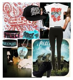 """""""Pierce The Veil"""" by dallymdescaper on Polyvore featuring Topshop"""