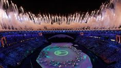 Following Britain's spectacular effort in 2012, Brazil had to go a long way to match the vibrant nature of the Olympic Games' opening ceremony with the numbers behind it staggering.