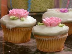 Old-Fashioned Cupcakes from FoodNetwork.com