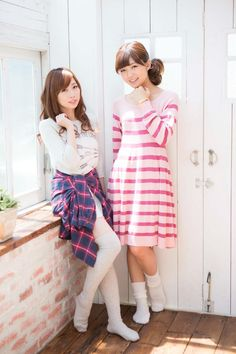 Aina Kusuda and Mimori Suzuko