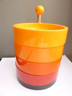 Emsa Orange tones Etagere 70's
