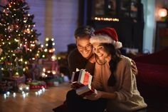 Christmas Traditions as a Couple: Christmas Eve Winter Christmas Gifts, Its Christmas Eve, Christmas Couple, Christmas Holidays, Christmas Ideas, Things To Do With Your Boyfriend, Christmas Eve Traditions, Christmas Lingerie, Christmas Living Rooms
