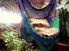 I am adding two big pillows to my swing.......36 Stunning Bohemian Homes You'd Love To Chill Out In