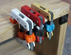 Hand-Screw Clamp 3D Print 152376